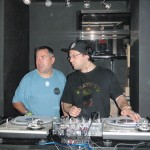 Me & A-Sides DJing in Miami at the WMC 2010