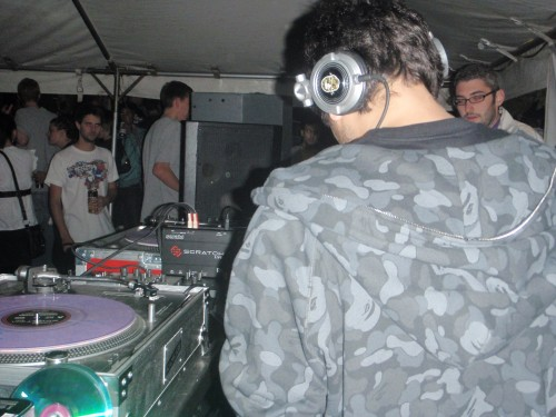 DJing with S.P.Y. & Nu:tone in Bristol 2009
