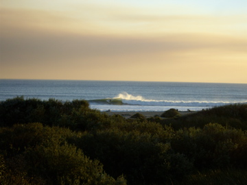 Favorite surf spot called trestles down near San Onofre