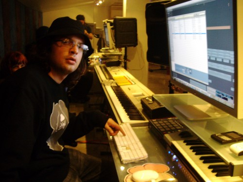 In the Marina Del Rey Studio 2007