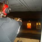 At the gun club