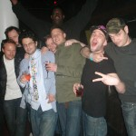 Erika, Forrest, Tech Itch, Construct, Kevin Gimble, Xample, Dirtyphonics, & Shimon at club Tatou 2010