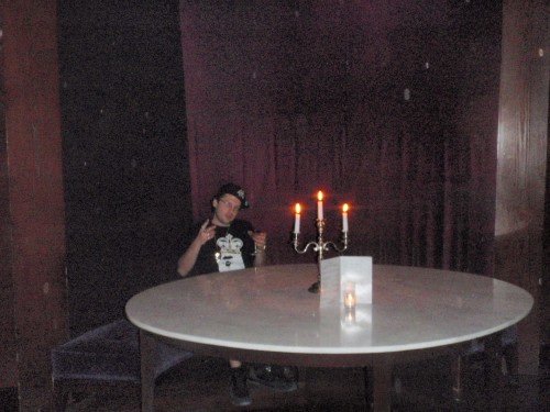 Drinking Rose Martinis @ the Delano in Miami WMC 2010