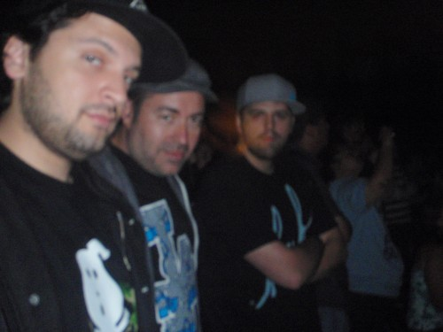 Construct, A-Sides, & TC at a 311 & Offsping show in San Diego.