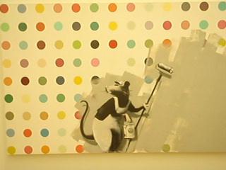 Damien Hurst x Banksy Collab