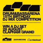 Drum & Bass Arena's 15th Birthday Competition Mix