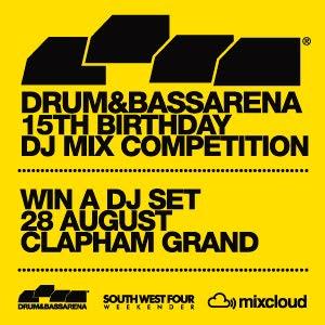 drum&bass arena dj mix competition