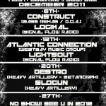 Signal Flow Radio December 2011 Schedule
