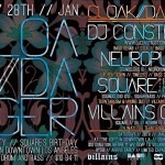 Cloak & Dagger presents DJ Construct