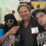Getting the Patron Bordeas Fix on at the 2010 Vegas Nightclub & bar show w/ Lil John