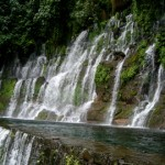 A Jungle waterfall dep in a forrest in Cuba 2006