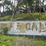 Locals Only surf spot in El Salvador