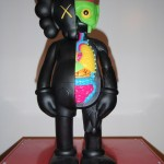 My black Kaws 400% Dissected Companion 2009