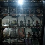 The CD Vending Machines near the exit @ Club Fabrik UK 2008
