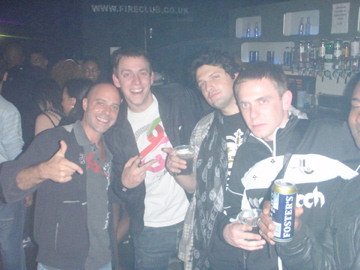 Sacha, Taxman, Construct, & Original Sin @ club Fire in the UK 2008