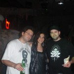 Me, Erika & TC @ an Insomniac Party