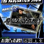The Revolution Show March 12, 2012 with DJ Construct