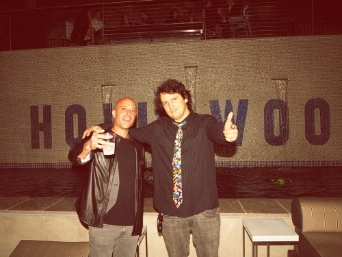 Sacha (D.O.A.) and Construct at the Hollywood Mansion Party March 2012
