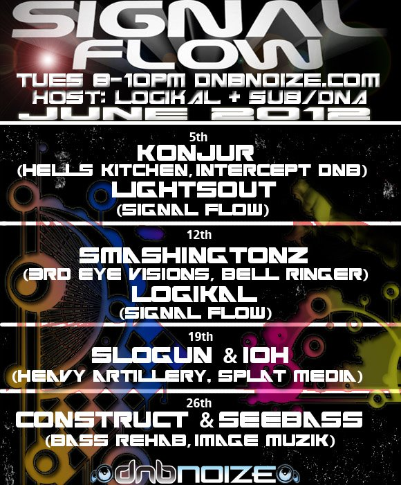 Signal Flow Radio June 26th 2012