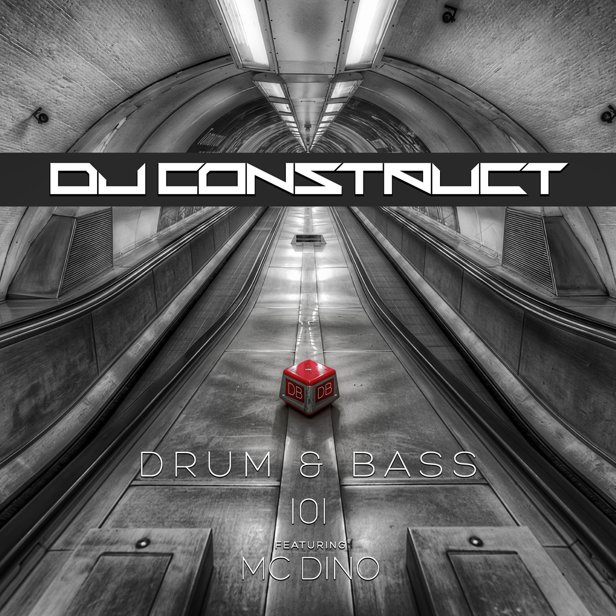 DJ Construct - Drum & Bass 101 Feat. MC Dino (101 Track DnB Mix)